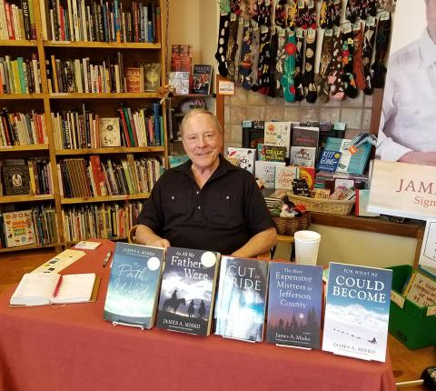 James Misko at Fireside Books